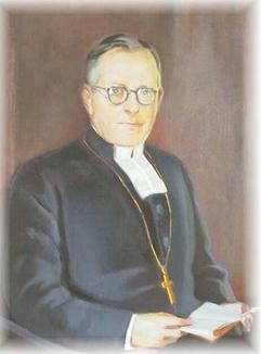 Muotokuva piispa Ilmari Salomiehestä
