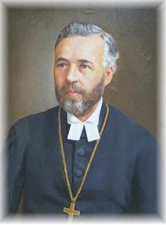 Muotokuva piispa Gustaf Johanssonista