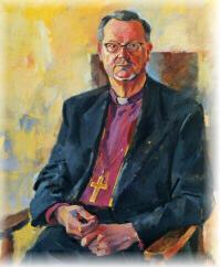 Muotokuva piispa Voitto Huotarista