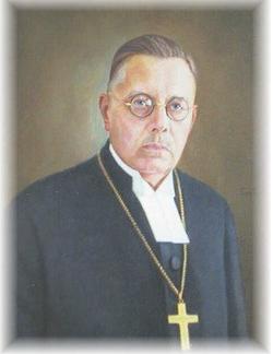 Muotokuva piispa Yrjö Loimarannasta