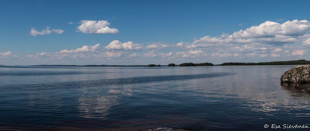 Järvimaisema Ilkonselkä, Suur-Saimaa
