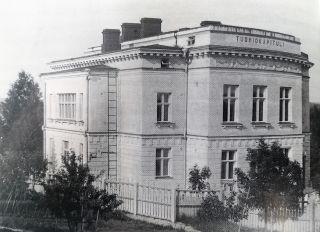 Kapitulin toimitalo Savonlinnassa1913-1925